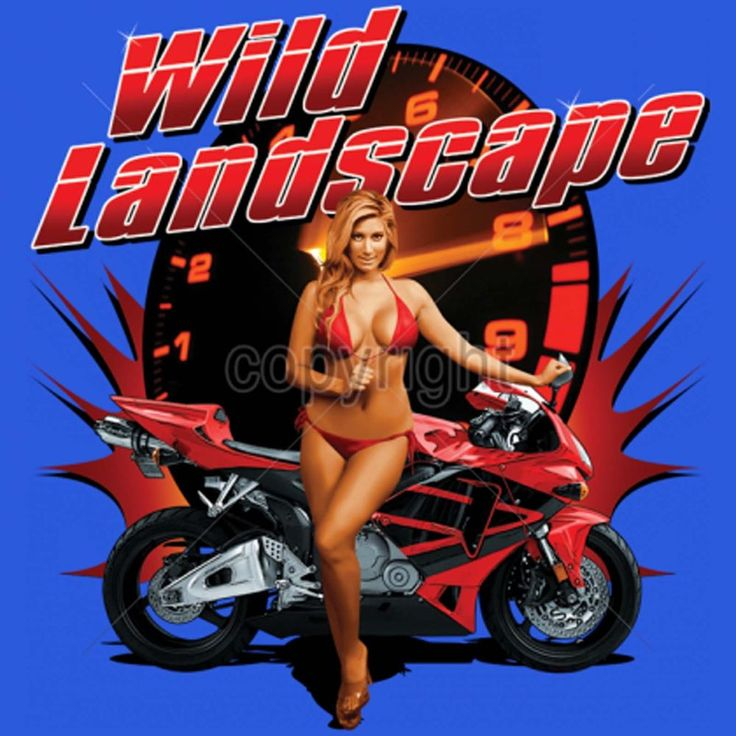 Super Bike T Shirt Riding Dirty Wheelstand Hot Bikini Girl Small to 6XL and Tall #PitStopShirtShop #GraphicTee