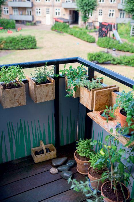 Arkitekternes eget hjem: Grøn bolig i byen - Boligliv - Altankasser