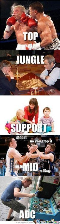 Lanes... holy shit this describes it so well! League of Legends: