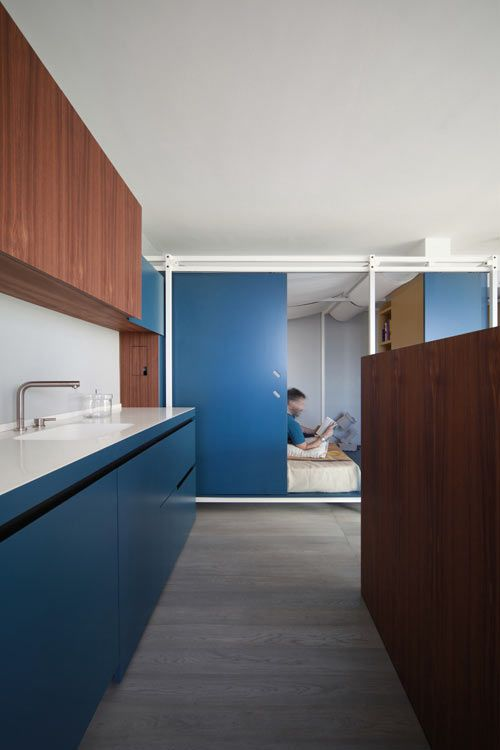 Fun House: Apartment in Juan les Pins by UdA Architetti - via design-milk.com