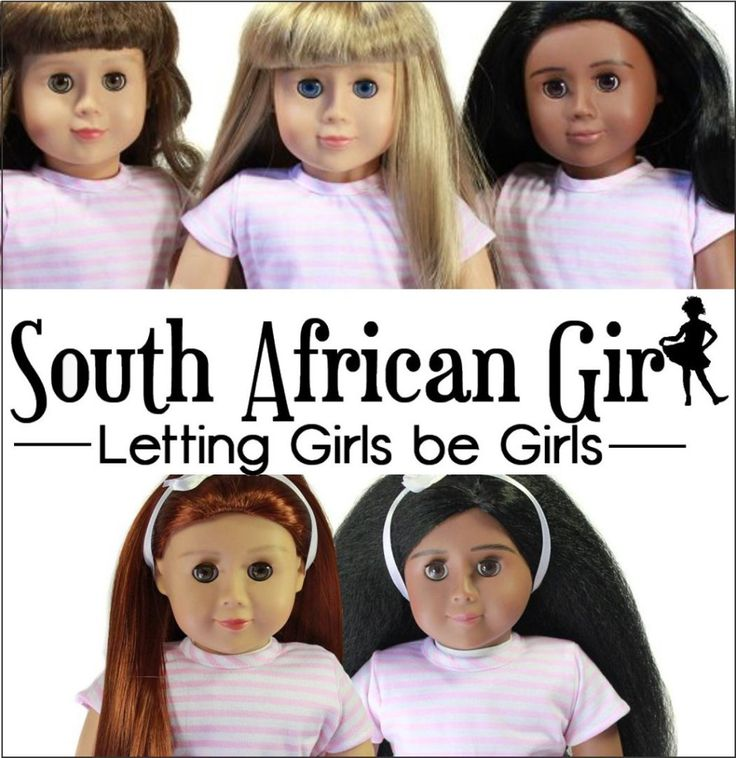 South African Girl Doll is an Age Appropriate high quality play doll with easy to manage hair. These dolls represent 6 – 12 year old girls. She fills the gap between baby and teenage dolls. There are different dolls to choose from so you can choose your best friend to look like you!