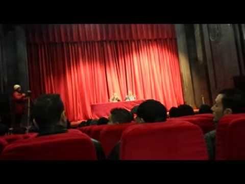 conference de Said Sadi au café littéraire (bejaia)part 1/3