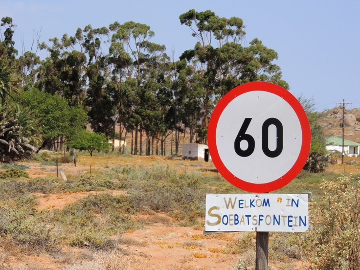 Soebatsfontein.