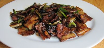 Traditional Chinese Recipes: Hui Guo Rou Twice cooked pork