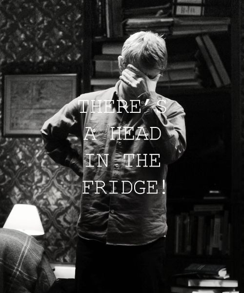 There's a head in the fridge.. (1/2)