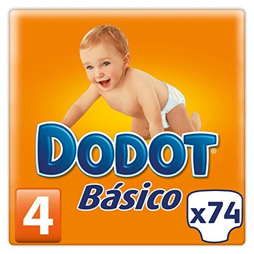 Dodot Pañales Básico, Talla 4 (8 - 14 kg) - 74 Pañales #Dodot #Pañales #Básico, #Talla
