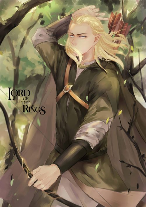 Legolas<<< When someone asks why do we love LOTR there is one simple…
