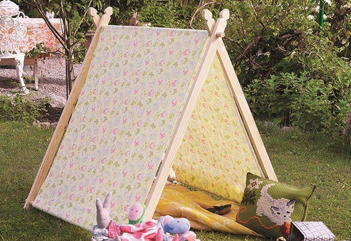 Så gör du ett lektält för de små - Inredning, inspiration, möbler, design och trädgård – Hus & Hem