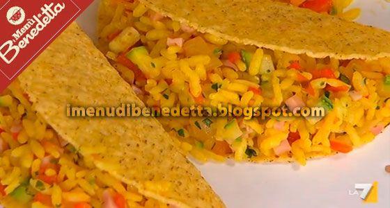 Tacos con Riso | la ricetta di Benedetta Parodi