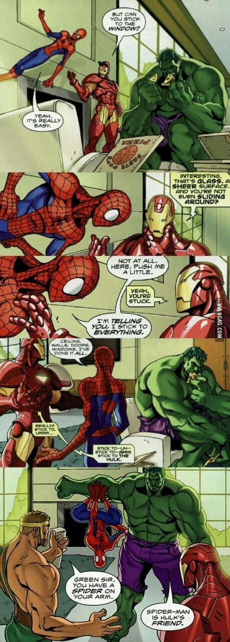 Hulk Loves Spidey http://ibeebz.com - visit to grab an unforgettable cool 3D Super Hero T-Shirt!