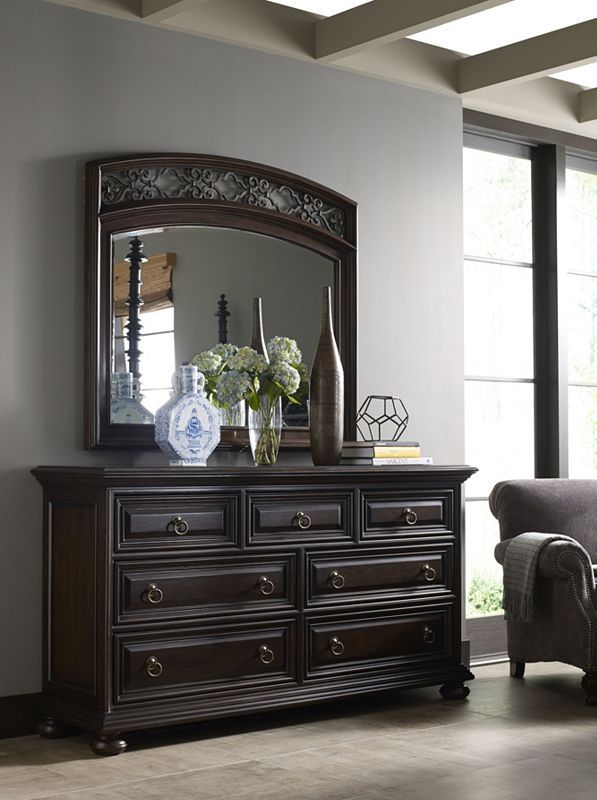 Beautiful Dresser And Mirror   Thomasville Furniture #ErnestHemingway