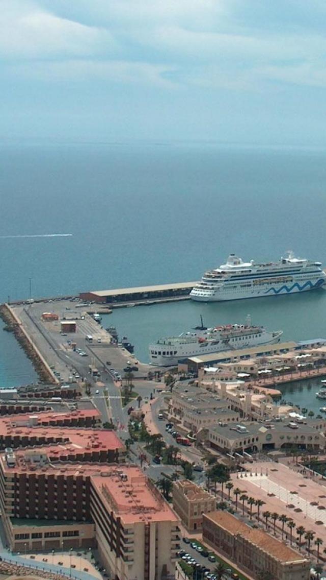 Alicante, Spain, Europe, Mediterranean, Ship