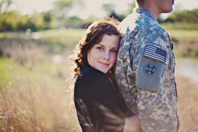 Army Engagement Photography