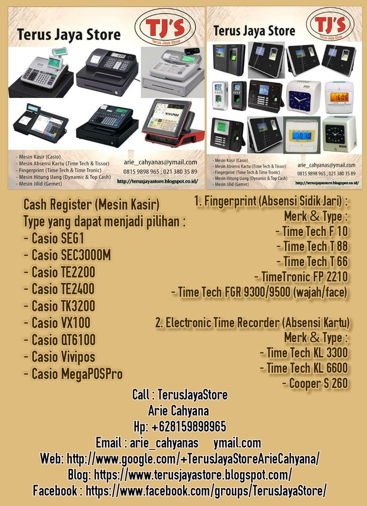 Do not be hesitate to contact us for further information and order  TerusJayaStore  ArieCahyana/+628159898965/arie_cahyanas@ymail.com   #cashregister #mesinkasir #restaurant #casio #rumahmakan #electronic #usaha #bisnis #business #gemet #binding #jilid #offistar #moneycountermachine #mesinhitunguang #absensi #attendance #brother #dynamic #fingerprint #mesintik #mesinjilid #mesinabsen #murah #perlengkapan #jakarta #tangerang #indonesia #followme #like4like #instadaily #lineshopping #pinterest