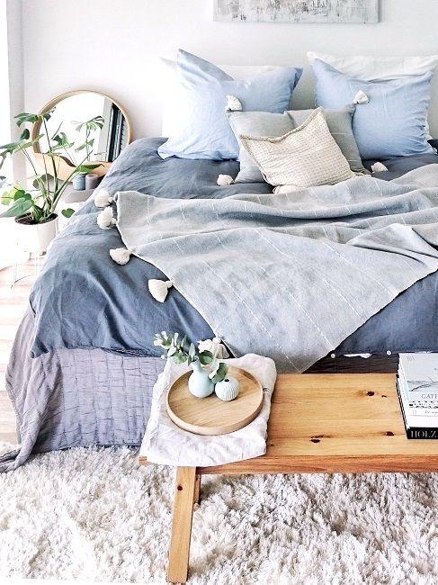 Die besten 25+ Schlafgut bettwäsche Ideen auf Pinterest Gute - wandfarbe im schlafzimmer erholsam schlafen
