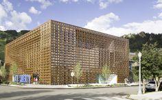 坂茂建築設計 / Shigeru Ban Architects 『アスペン美術館』 http://www.kenchikukenken.co.jp/works/1300244164/454/