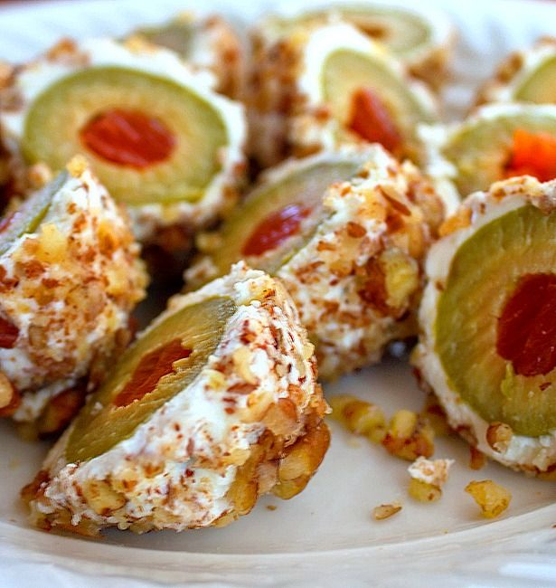 Cream Cheese Wrapped Olives