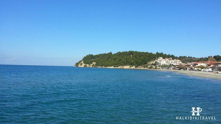 #Siviri #beach in #Halkidiki. Visit www.halkidikitravel.com for more info. #HalkidikiTravel #travel #Greece