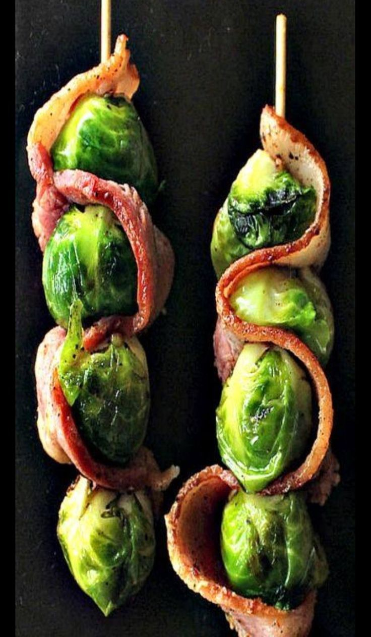 Bacon and Brussels. Genius.