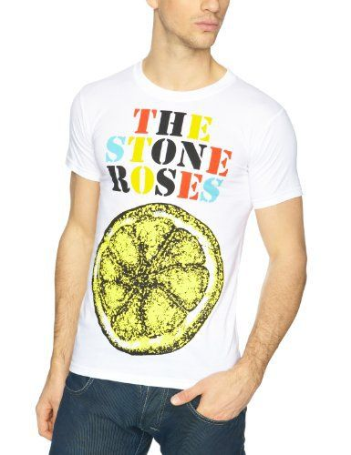 The Stone Roses Logo Lemon Multicolour Men's T-Shirt Whether you're a die-hard fan of The Stone Roses or looking for an awesome tee to add to your band merch collection, you just HAVE to check out this The Stone Roses Lemon T shirt! Started over thirty years ago, The Stone Roses have an enviably huge reputation and fan base, which means wherever you wear this band tee you will probably meet someone who wants one! With vocalist Ian Brown's distinctive voice, The S
