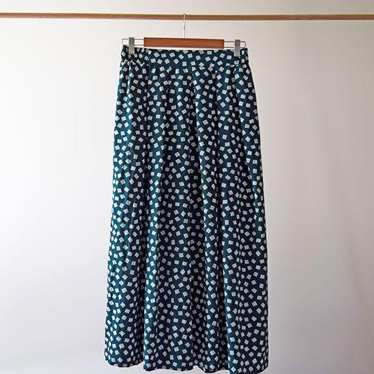 Made By Mee + Co | Green Geometric Skirt