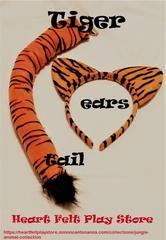 Tiger Ears n Tail Set