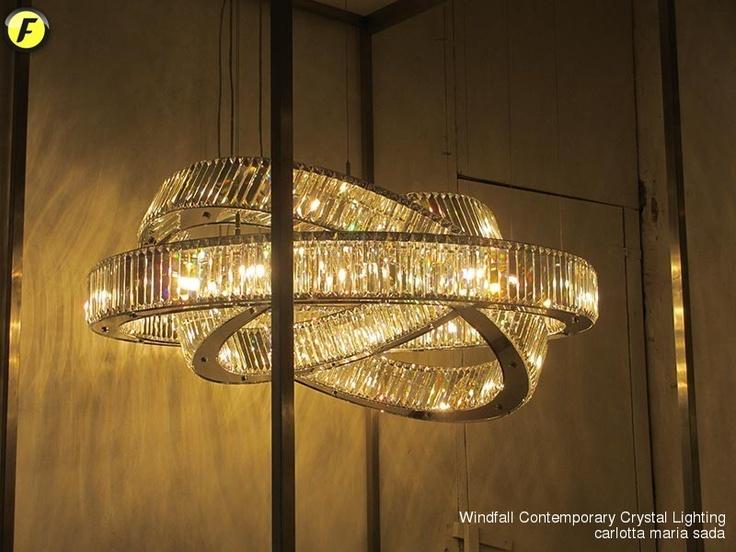 Windfall-Contemporary Crystal Lighting