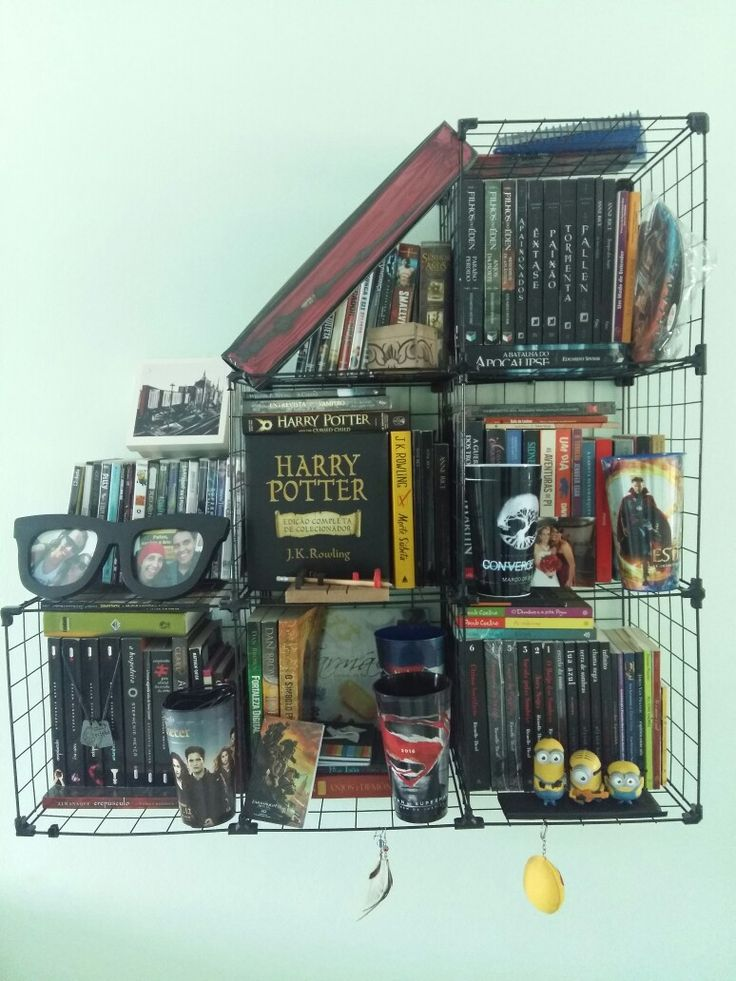 Estante para livros, geek, nerd
