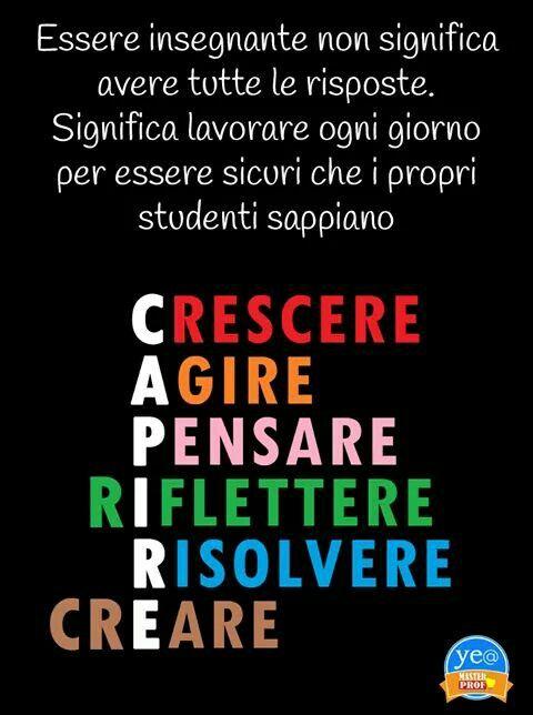 Per le insegnanti di adesso!!