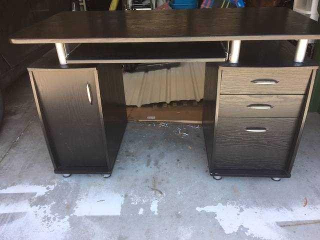 black computer desk 2430 0d 0a 0d 0aspecifications 3a 0d 0a30 22 rh pinterest com