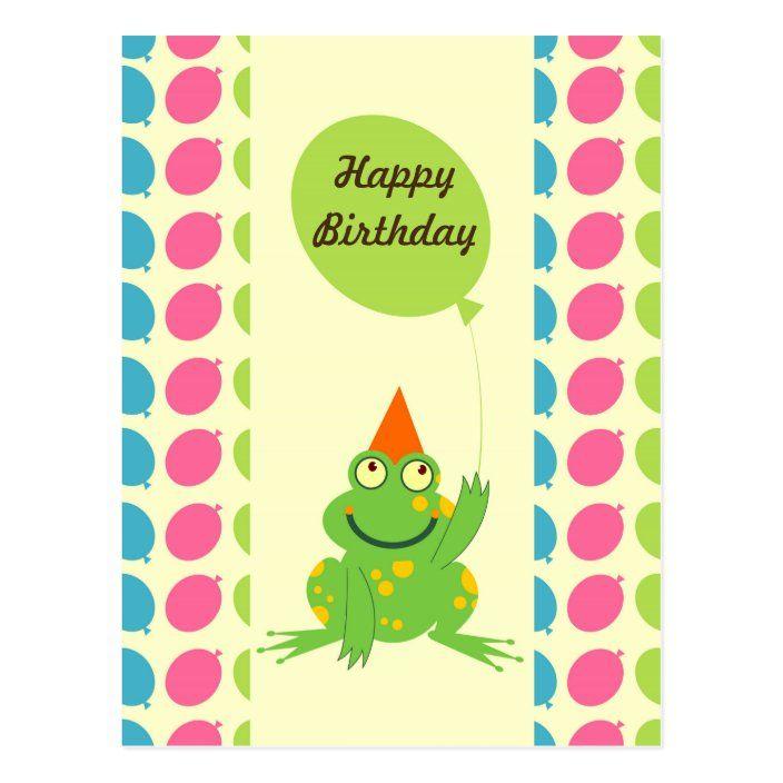 Frosch geburtstagswünsche Geburtstagswünsche Luftballons,
