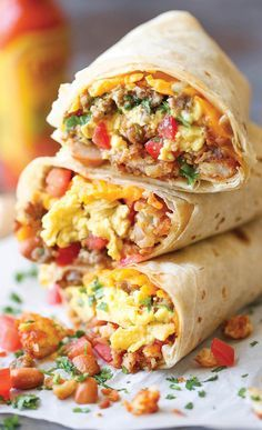 The Breakfast Burritos That'll Get You Out Of Bed                                                                                                                                                                                 More
