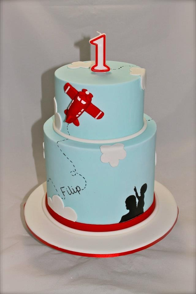 Plane Cake PERFECT for top layer