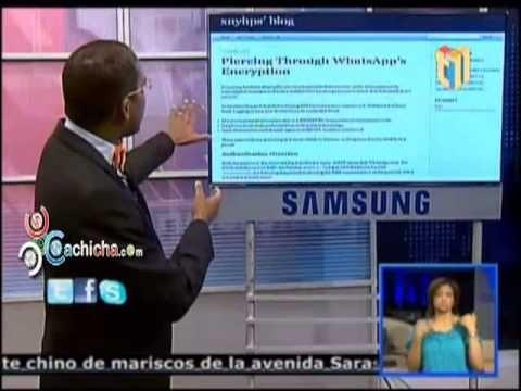 Cualquiera podría intervenir y leer tus mensajes de Whatsapp #Video - Cachicha.com