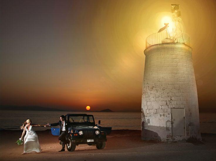 γάμος στην Αίγινα...