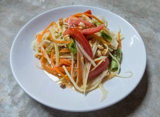 Denny Chef Blog: Som Tam - Insalata di papaya verde