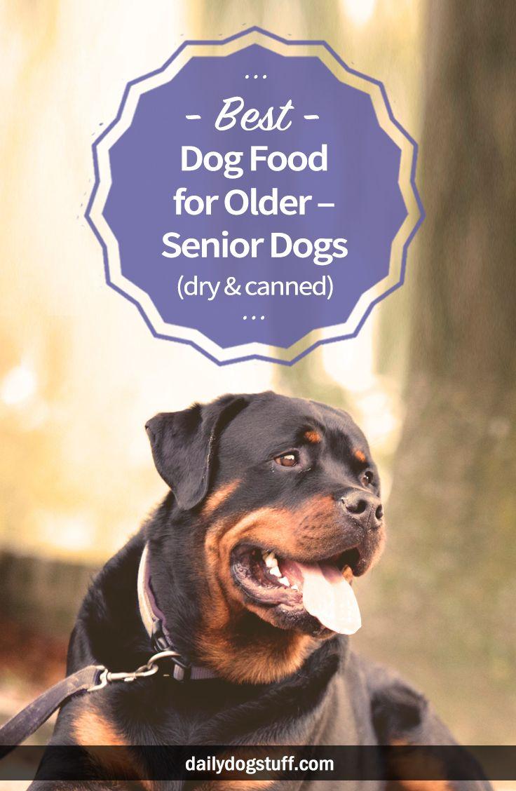 Best dog food for older u senior dogs dry u canned dog stuff