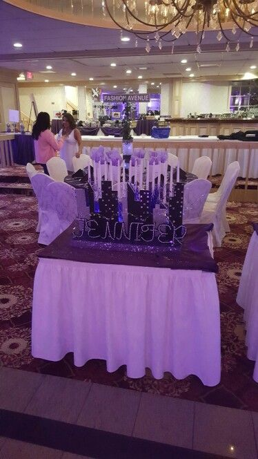 Sweet 16 Candle Ceremony Display Michele S Crafts