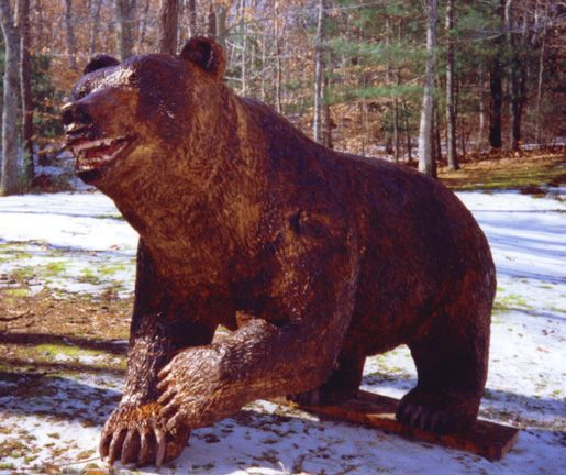 Best images about chainsaw bear carvings on pinterest