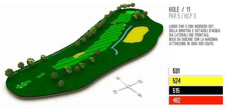 Hole 11 Golf Lignano