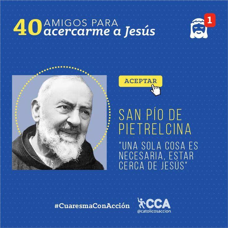 """Católicos Con Acción en Twitter: """"Este día iniciamos la dinámica de #CuaresmaConAcción: """"40 amigos para acercarte a Jesús"""", ahora te presentamos a San Pío de Pietrelcina https://t.co/sXFH0FGByv"""""""