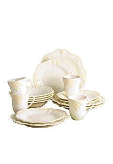 Exceptional Lenox Butleru0027s Pantry 16 Piece Dinnerware Set
