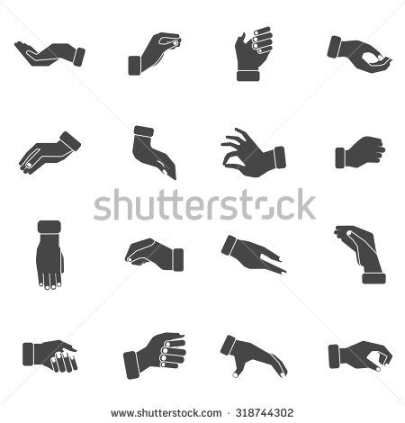 hand holding something vector - Google Search