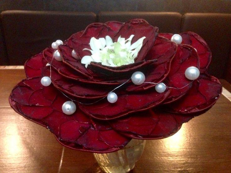 Flor compuesta de alambre