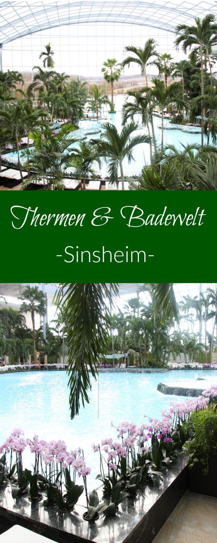 Thermen und Badewelt Sinsheim. Hier fühlt man sich unter den vielen Palmen und Orchideen direkt wie im Urlaub. Das Palmenparadies ist wirklich ein Traum und eine tolle Sache für einen Kurzurlaub in Deutschland.