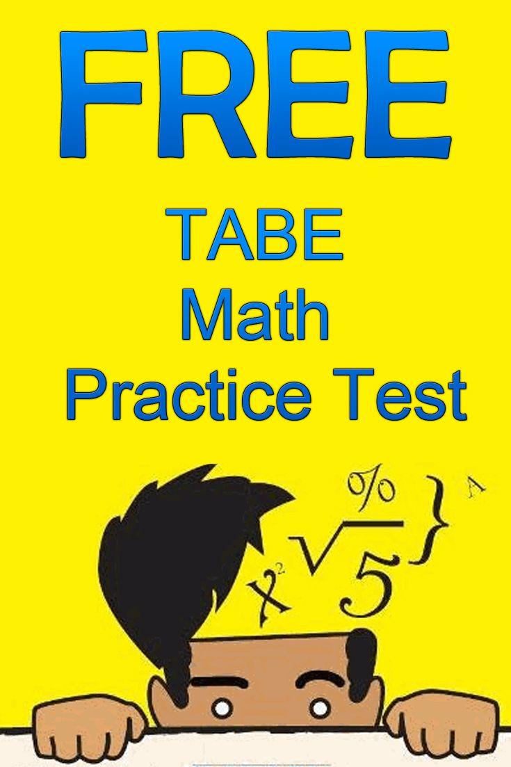 Adult basic education tabe test