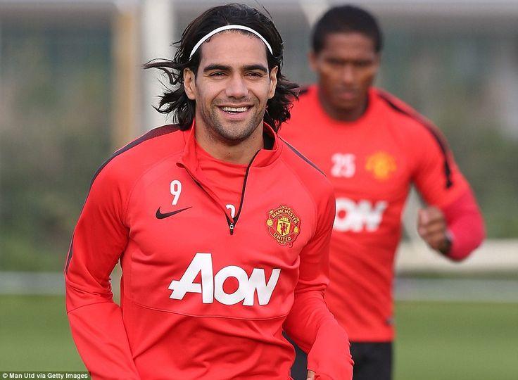 Radamel Falcao in training