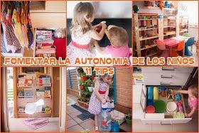 Tigriteando: 11 formas de fomentar la autonomía de los niños inspiradas en el método Montessori