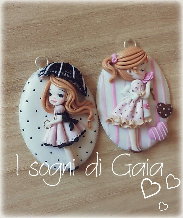 My doll polymer clay -fimo