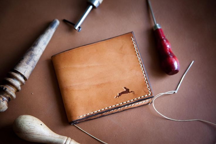 #leather #wallet #gift #handmade #steelrabbit